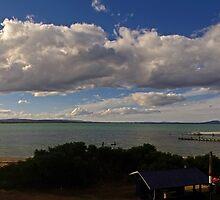 Swansea Sunset - Looking across Great Oyster Bay, Tasmania by Paul Gilbert