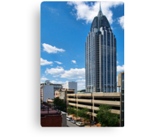 RSA Tower - Downtown Mobile, Alabama Canvas Print