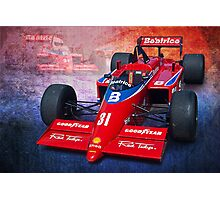 1985 Lola-Hart FORCE THL1 Photographic Print