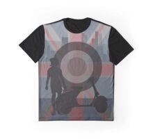 Retro scooter girl art Graphic T-Shirt