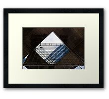 London Southbank Abstract Framed Print