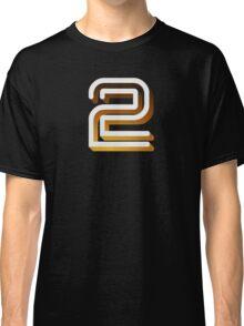 Retro BBC2 logo Classic T-Shirt