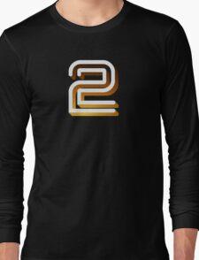 Retro BBC2 logo Long Sleeve T-Shirt