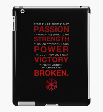Code of the Sith iPad Case/Skin