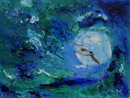The world of the seagull by © Pauline Wherrell