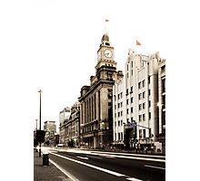 Shanghai Customs Building Photographic Print