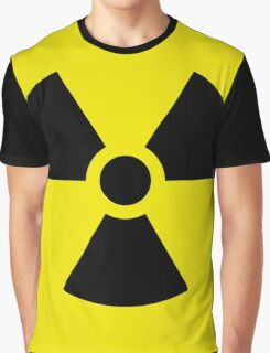 Nuclear bomb danger funny sign Graphic T-Shirt
