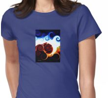 Light at the end of the tunnel Womens Fitted T-Shirt