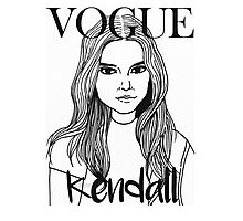 Kendall Jenner x VOGUE Photographic Print