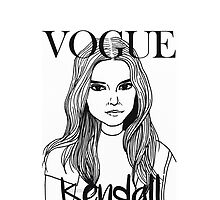 Kendall Jenner x VOGUE by eyspantaleon