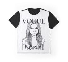 Kendall Jenner x VOGUE Graphic T-Shirt