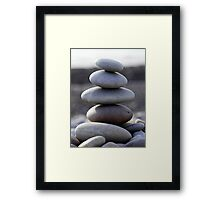 Stone tower  Framed Print
