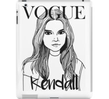 Kendall Jenner x VOGUE iPad Case/Skin