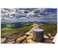 Losehill Derbyshire Poster