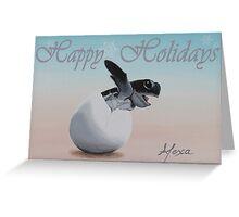 Dino Egg Holiday Cards Greeting Card