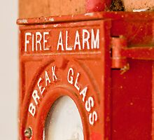 Red Fire Alarm by Adam1965