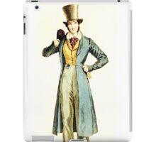 Top Hat Man iPad Case/Skin