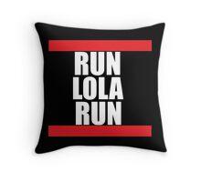 Run lola run  DMC mashup Throw Pillow