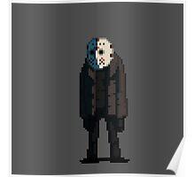Jason Voorhees in pixels Poster