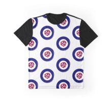 Painted effect mod target with spider middle Graphic T-Shirt