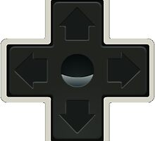 Cross NES controller pad buttons. by 2monthsoff
