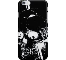 The Skull of Phineas Gage (White) iPhone Case/Skin