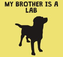 My Brother Is A Lab Kids Tee
