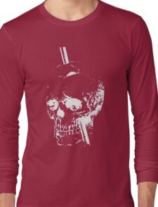 The Skull of Phineas Gage (White) Long Sleeve T-Shirt