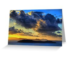 Storm Clouds over the Whitsundays Greeting Card