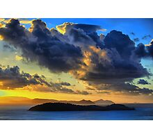Storm Clouds over the Whitsundays Photographic Print