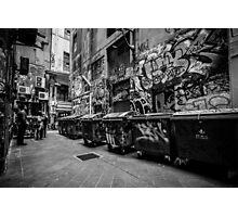 Melbourne streetart 1 Photographic Print