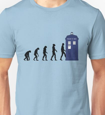 Evolution in time... Unisex T-Shirt