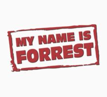 My name is Forrest by Mix939