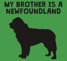 My Brother Is A Newfoundland Baby Tee