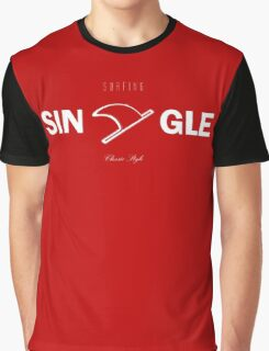 Single Fin Classic Soul Surfing Graphic T-Shirt