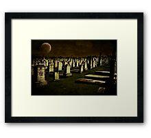 Midnight Framed Print