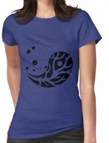 The living yin yang Womens Fitted T-Shirt