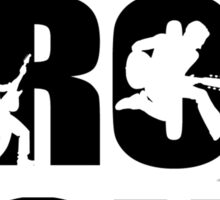 I LOVE ROCK MUSIC!!!!! Sticker