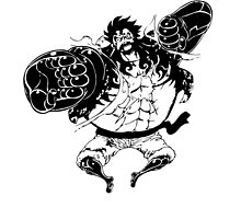 Luffy Gear 4 Attack Formation by Mike Bronson