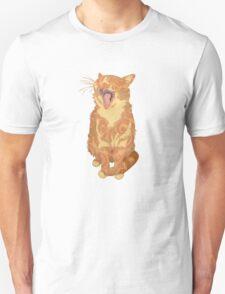 Yawning Cute Pussy T-Shirt