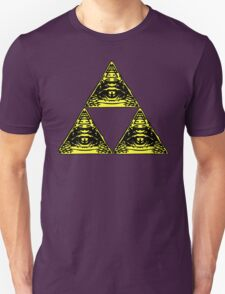 All Seeing Tri-Force v2 Unisex T-Shirt