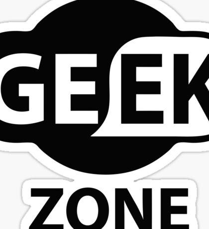 GEEK ZONE - Computer Sticker