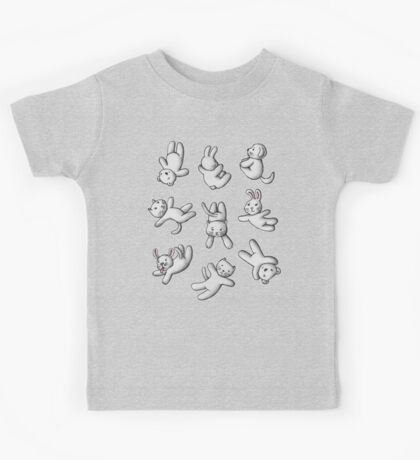 Falling Jumping Flying Kids Tee