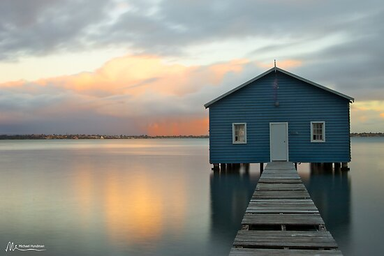 Crawley Boat Shed, Perth, Western Australia by Michael Hyndman