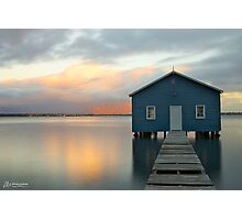 Crawley Boat Shed, Perth, Western Australia Photographic Print
