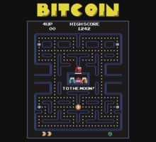 Pac-Man Bitcoin by Phneepers