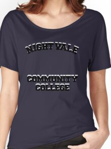 Welcome To Night Vale - Night Vale Community College Design Women's Relaxed Fit T-Shirt