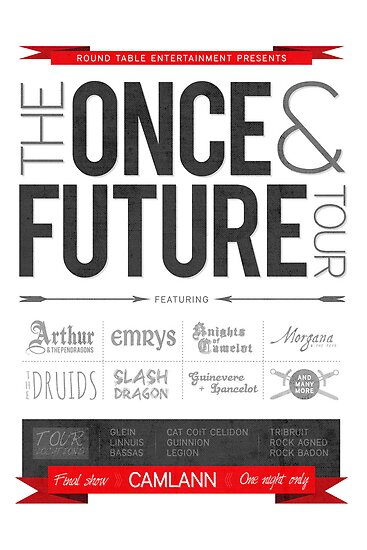 The Once & Future Tour by mithborien