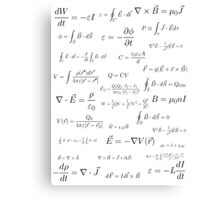 Physics - electromagnetism Canvas Print