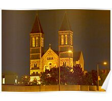 St Bernards Poster